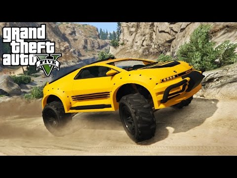 SCARABEE LAND TRANSPORT 4x4 Off-Roading, Mudding, & Hill Climbing! (GTA 5 PC Mods)