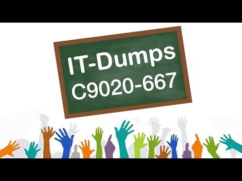 [2018 New] C9020-667 IBM New Workloads Sales V1 Dumps
