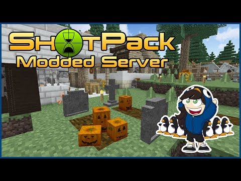 TimeShot // ShotPack Server // 9 // Finnish Lessons & The Penguin Chase! (Modded Minecraft)
