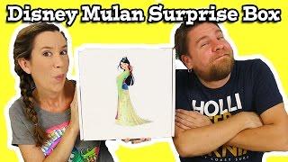 Disney Princess Mulan Surprise Box