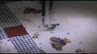 Teddy Bears, children Quilt, Quilt by Sandi, #four