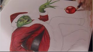Drawing:The Grinch