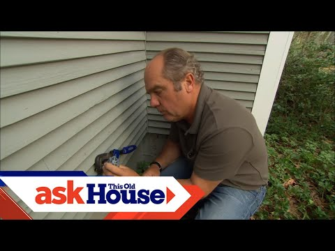 How to Rebuild a Hose Spigot