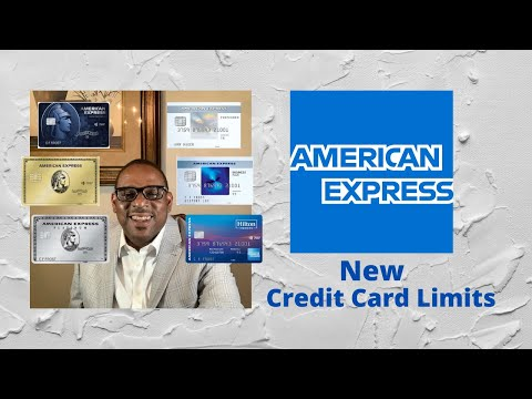 American Express New Credit Card Limits