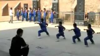 Training in Deng Feng,Shaolin Quan Fa Schule,Henan,China