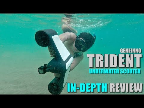 Geneinno TRIDENT Underwater Scooter - Full Review - [Unboxing, Ocean Test, Pros & Cons]