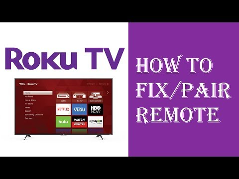 How to connect my directv remote to my roku tv