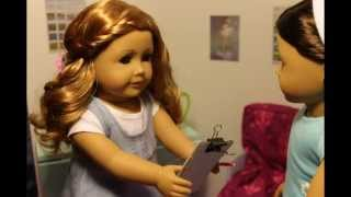 Getting Ready For School ~agsm~ American Girl Doll Stop Motion