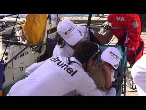 Lucas Schroder sailing the Transat 6.50 in 2011 - Short Documentairy