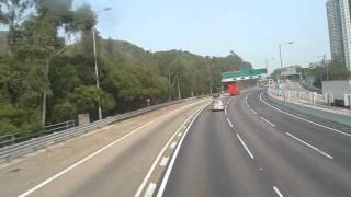 KMB Volvo Olympian(AV26) 66@Tuen Mun Highway Part2