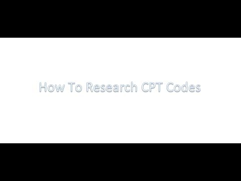 CPT Code Search