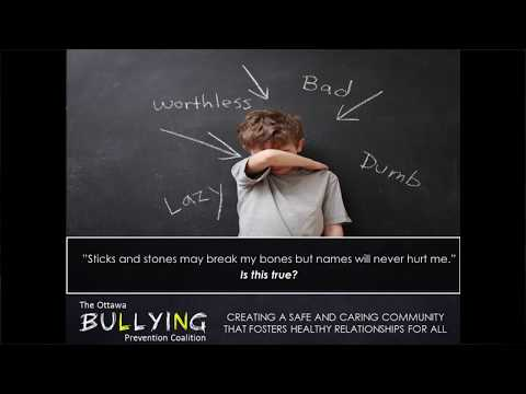 Creating a Safe Space: Angela Larusso, MEd, Ottawa Bullying Prevention Coalition