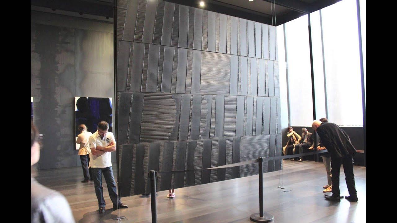 inside video mus e soulages rodez youtube. Black Bedroom Furniture Sets. Home Design Ideas