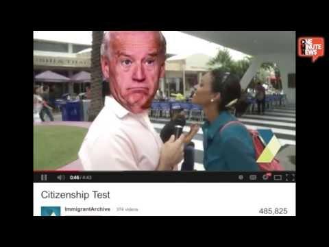 Watch US Citizens Fail The Citizenship Test... Miserably.