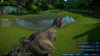 VELOCIRAPTOR PLAYS JURASSIC WORLD EVOLUTION! Ps4 Pro Part 2
