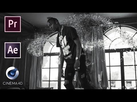 "Travis Scott - ""Wake Up"" FULL TUTORIAL & BREAKDOWN | Adobe Premiere, After Effects, Cinema 4D thumbnail"
