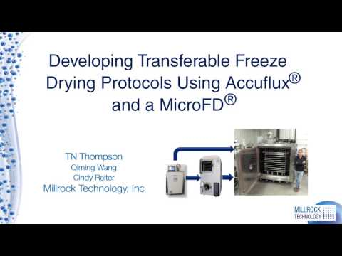 FD Cycle Scale up Millrock Tech Video R1