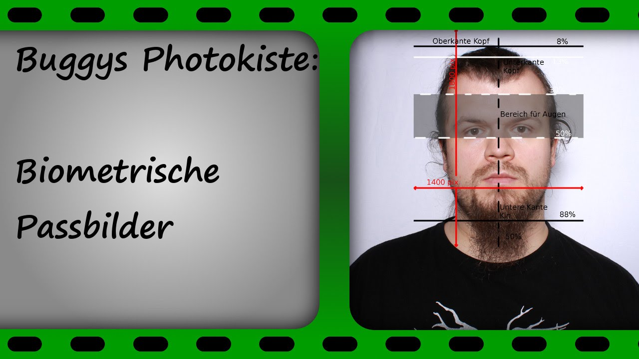 Beste Vorlage Für Die Passbildgröße Galerie ...