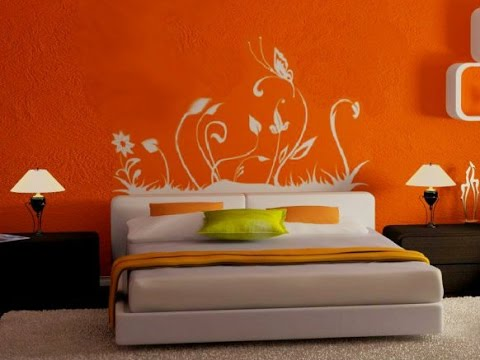 Bedroom/Living Room Colour Ideas | Bedroom Color Ideas I Master Bedroom  Color Ideas