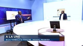 BRUNO TSHIBALA 1er MINISTRE:MISSION PRIORITÉS..GUY PATRICE ONGALA RÉPOND AUX QUESTIONS