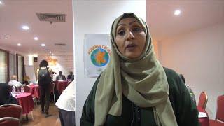 نساء في محافظة عدن يوجهن رسائل حول العنف ضد المرأة
