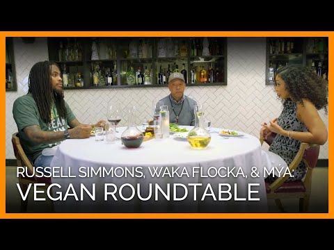 Vegan Roundtable With Russell Simmons, Waka Flocka, And Mýa