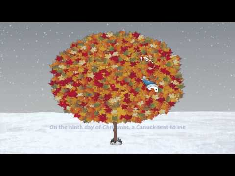 A Moose in a Maple Tree  The All Canadian 12 Days of Christmas