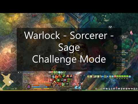 Challenge to 6 - Warlock Sage Sorc - TOS KR Re:BUILD