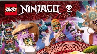 Lego Ninjago Trading Card Game Serie 6 Die Insel Starter Pack