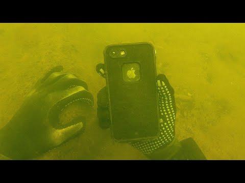IPhone 8 Found Underwater In Lifeproof Case! (Does It Still Work?)