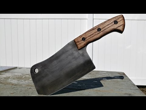 Knife making Meat Cleaver