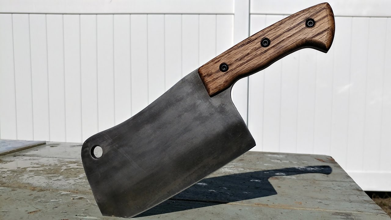 Knife Making Meat Cleaver Youtube
