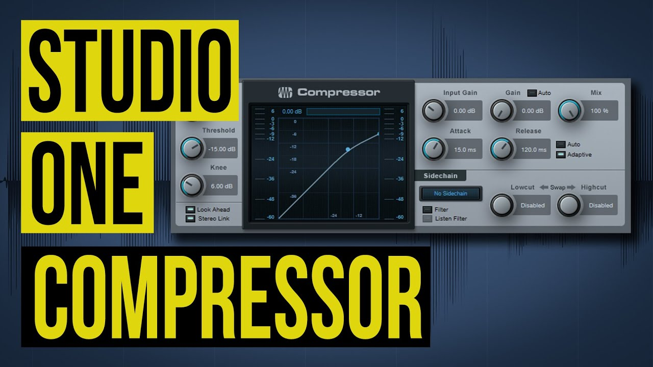 How to use the Studio One Compressor