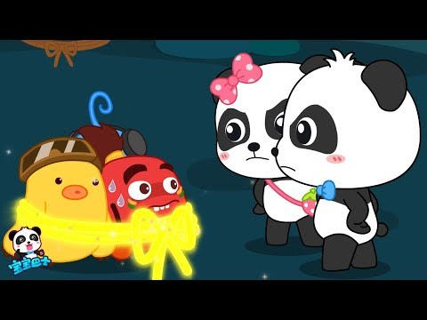 Help! Big Boss Caught Baby Panda! | Math Kingdom Adventure 1 |  BabyBus Cartoon