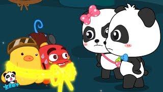 Help! Big Boss Caught Baby Panda's Friends!   Math Kingdom Adventure 1    BabyBus Cartoon