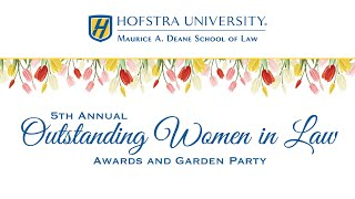 Outstanding Women in Law Awards and Garden Party