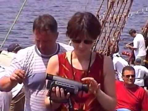 Cruising on a ship in Sousse, Tunisia 1999