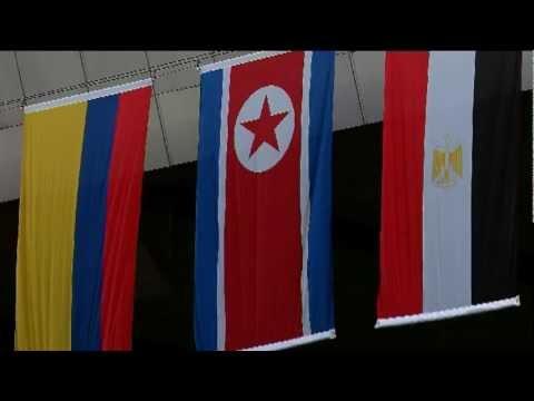 LOCOG apologise for North Korean flag error