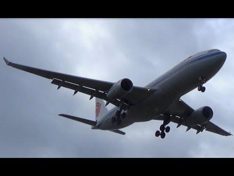 Air China A332 Landing Sydney Airport || B-6113