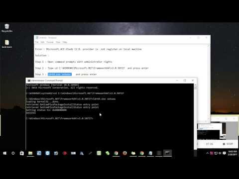 eSSL Error : Microsoft.ACE.Oledb 12.0. provider is.not register on local machine
