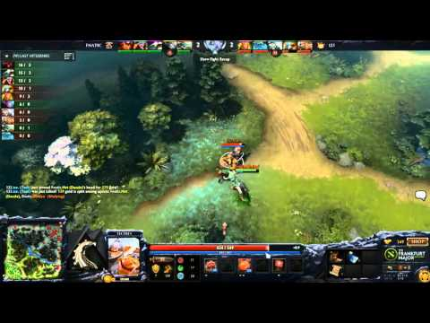 Fnatic vs Team 123 - Game 1 - Frankfurt Major Hub - Godz, Winter, LD