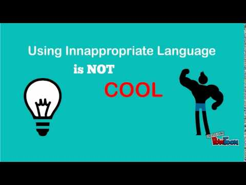 appropriateness in language Based on the aspects of the speech situation, the participants consciously or  subconsciously choose a language variety which they deem appropriate for a.