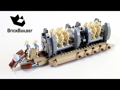 Lego Star Wars 75086 Battle Droid Troop Carrier - Lego Speed Build