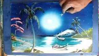 Renato Dart (Pintura com os Dedos - Finger Painting)