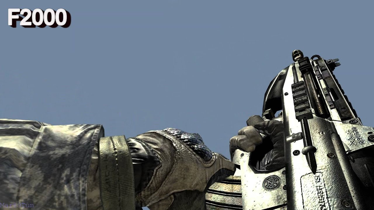 Call of duty modern warfare 2 gun - Call Of Duty Modern Warfare 2 All Weapons In Slow Motion Full Hd Max Details Cod Mw2 Youtube