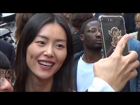 Liu Wen @ Paris Fashion Week 28 september 2017 show Chloé #PFW