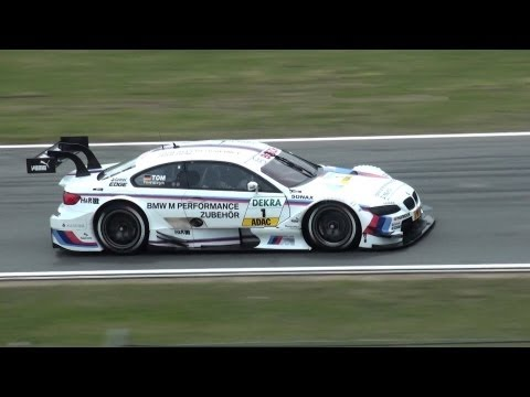 The all new DTM - impressive Touringcars of AUDI, BMW and MERCEDES - Friday Practice Hockenheim
