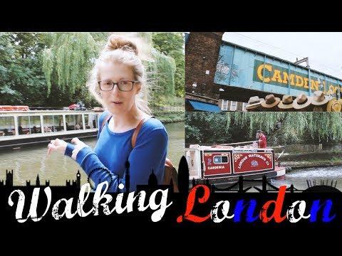 Regent's Canal with Jen! | Walks in London #1 - King's Cross to Marylebone High Street