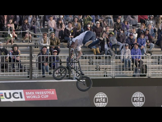 Best Trick: Jake Wallwork Super Seat Flair | FISE World Series Hiroshima 2018