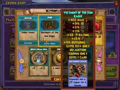 Opening the New Skyvern Hoard Pack (Wizard101)